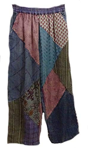 Sacred Threads. Vintage NWT Funky Patched Amazing Pants for sale  Delivered anywhere in USA