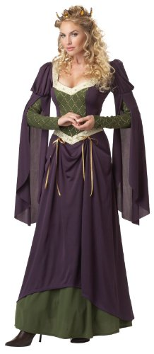 California Costumes Women's Lady In Waiting Adult, Purple, Small