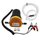 B Blesiya CAR/Motorbike Oil Diesel Transfer Portable Pump 12V Extractor Fluid Change, Easy Operation