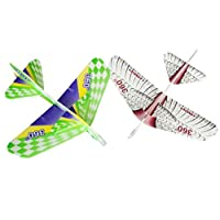 BESTPRICEAM EPP Hand Throws Magical Plane Throw Aircraft Model Outdoor DIY Assembled Toys