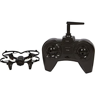 Helizone Sparrow Mini Drone with 2 MP HD Camera Quadcopter For Video Recording with 4 GB Card, Headless Mode 3 Speed 2.4 Ghz 6 Axis Gyro with Bonus Propeller Guard Great for Beginners from Helizone