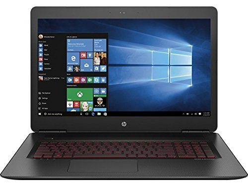 "Price comparison product image 2018 HP Omen 17.3"" Gaming Laptop Computer, Intel Core i7-6700HQ 2.6GHz, 12GB RAM, 256GB SSD+1TB HDD, NVIDIA GeForce GTX 965M 4GB GDDR5, Windows 10 Home (Certified Refurbished)"