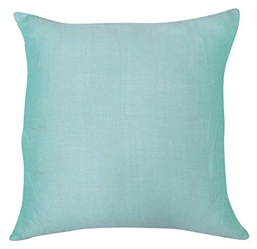 Decorative Dupion Silk Cushion Pillow Cover Throw Pillow Home Decor 18 x 18 Inches (Dupion Silk Cushion)