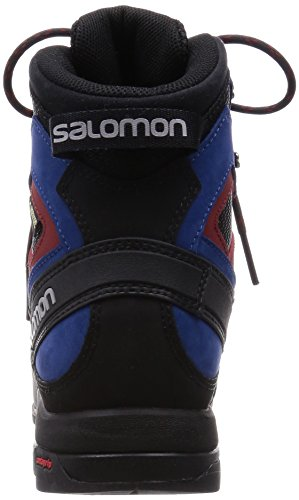 Salomon Scarponi X Alp Mtn GTX Gore-Tex, Black/Gentiane/Methyl Blue (Size EU 42 2/3 UK 8.5)