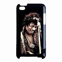 Custom Design Jimi Hendrix Case Cover,Jimi Hendrix iPod Touch 4th Phone Shell, iPod Touch 4th Case,Rock Music Case Jimi Hendrix Protective Phone Case