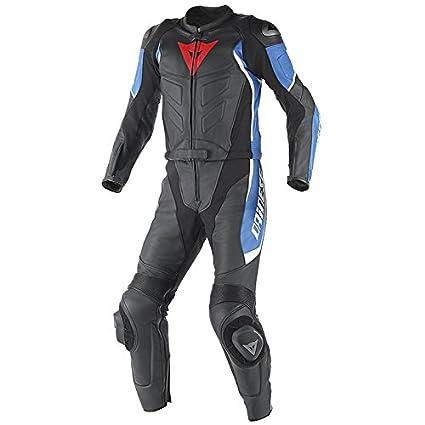 Dainese T Avro Div D1 traje de moto negro/azul/blanco: Amazon.es ...