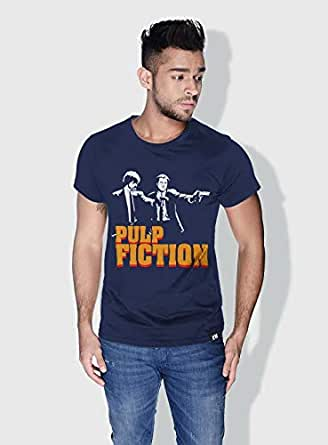 Creo Pulp Fiction Movie Posters T-Shirts For Men - Xl, Blue