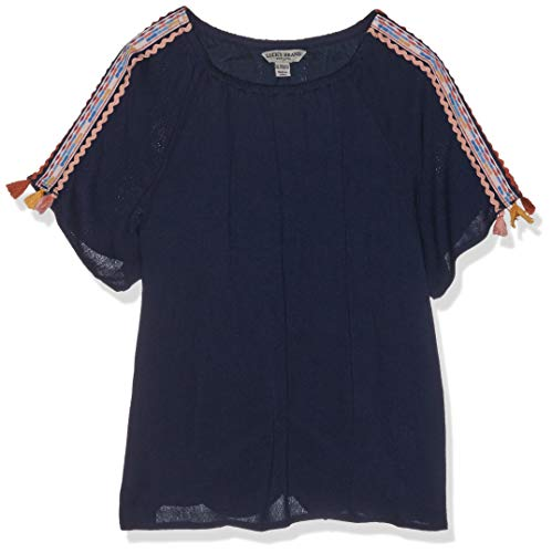 Lucky Brand Big Girls' Fashion Top, Jessamy Black Iris, Medium by Lucky Brand