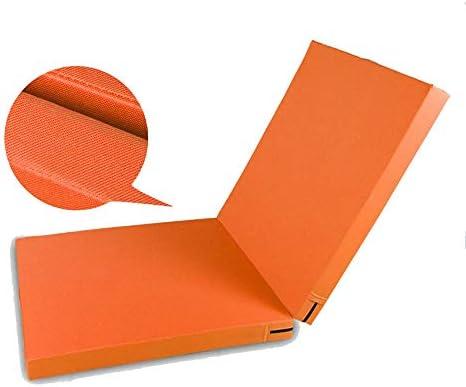折り畳みエクササイズマット、2つの折り畳みパネル厚オックスフォード布と軽量ホームジムタンブリングマット、子供用ジムフィットネスヨガエクササイズ体操エアロビクス身体トレーニング