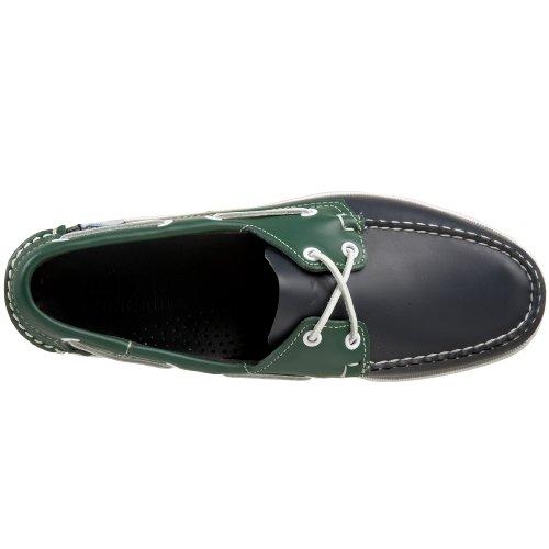 Barco Zapatillas para de Vert Hombre Sebago Marine Spinnaker Green Navy ZqxSw7ap1