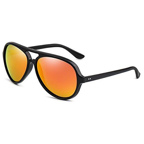 Mobike Aviator Sunglasses for Mes Women XL Large TR90 - Salt Sunglasses Aviator