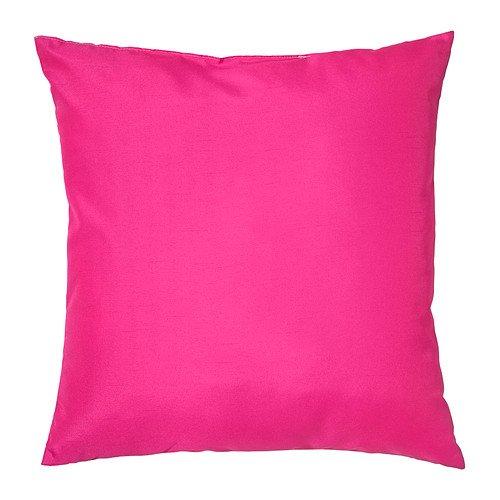 Ikea ullkaktus Cojín rosa/rosa, 50 x 50 cm, poliéster ...