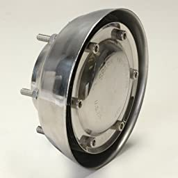 Weld On Stainless Steel Spark Arrestor For 3 Inch Exhaust Pipe With Twelve 5 Inch Diameter Disc