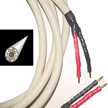 Amazon.com: Straightwire Octave II Speaker Cables 8 Ft. Pair: Home ...