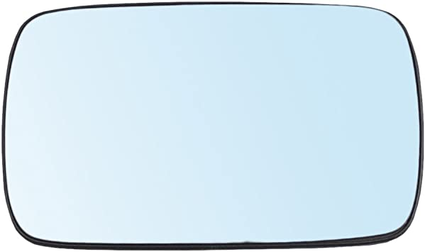 Drivers Power Side View Mirror Blue Tinted Glass w//Base Heated Replacement for BMW 3 Series 5 Series 51168250436