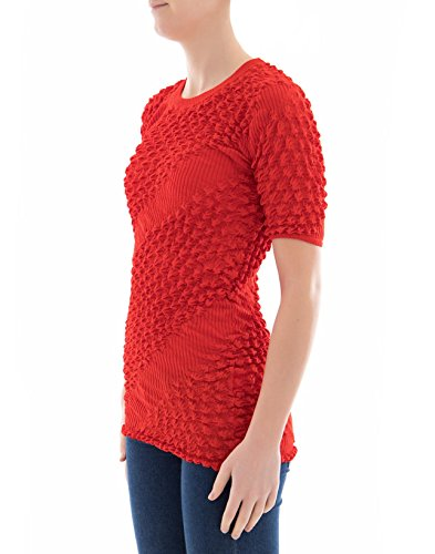 Kenzo Damen F852T046781821 Rot Viskose Pullover qJiWl