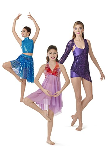 Simplicity 1077 Girls'/Misses' Knit Dancewear Sewing Template, Size AA ()