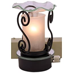 Plug in Oil Warmer Frosted