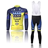 IFANS Sports Pro Team Men's Long Sleeve Comfortable Breathable Cycling Jersey