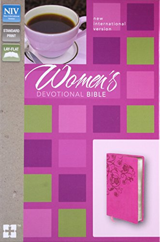 NIV, Women's Devotional Bible, Leathersoft, Pink