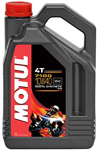 Motul 104092 Synthetic Engine Oil (Best Motorcycle Oil Review)
