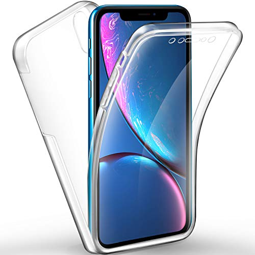 design senza tempo df301 0ee6d Cover Huawei Honor View 10 Lite, AROYI Honor View 10 Lite Custodia  Transparent Silicone TPU e PC Full Body Protettiva Premium Resistente Ai  Graffi ...