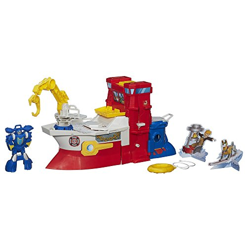 Playskool Heroes Transformers Rescue Bots High Tide Rescue Rig Playset (Discontinued by manufacturer) by Playskool