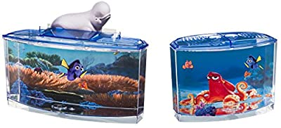 Our Finding Dory Plastic Aquarium Starter Kit Tank is GREAT for Betta or Small Fish