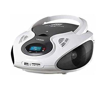 Lauson CP433 impianto stereo portatile 2,4 W Nero Verde