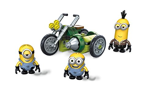 Mega Construx Despicable Me Moto - Despicable Outfit Me