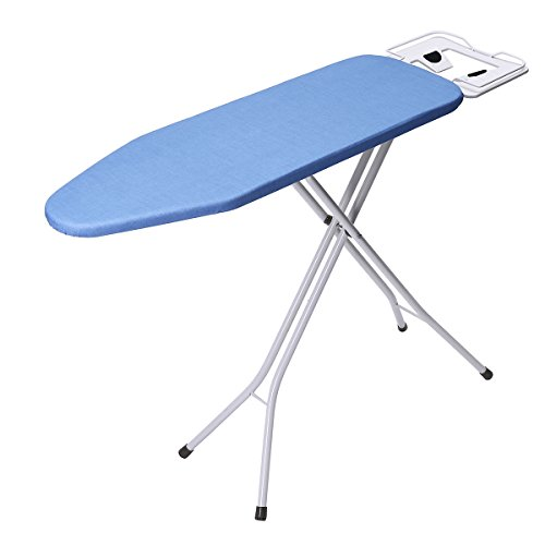 "king do way Ironing Board 39"" L x 12''W x 33''H Opensize 4-Leg Table for Ironing Clothes Tabletop Ironing Board with Iron Rest Wide Top Iron Board Design"