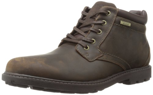 Rockport Men's Rugged Bucks Waterproof Boot,Tan,11 M US
