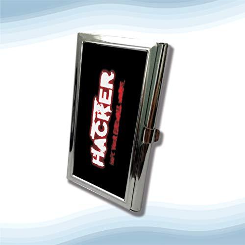 - Hacker Firewall Metal Business Cardholder