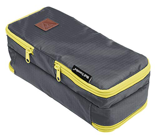 Well Traveled Toiletry Bag - A Compact Dopp Kit & Bathroom Bag