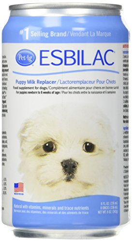 - Esbilac Milk Replacer for Puppies 8oz (6 Pack)