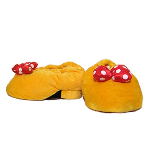 Disney Parks Minnie Mouse Heel Slippers (Adult - Medium) - Disney Parks Exclusive]()