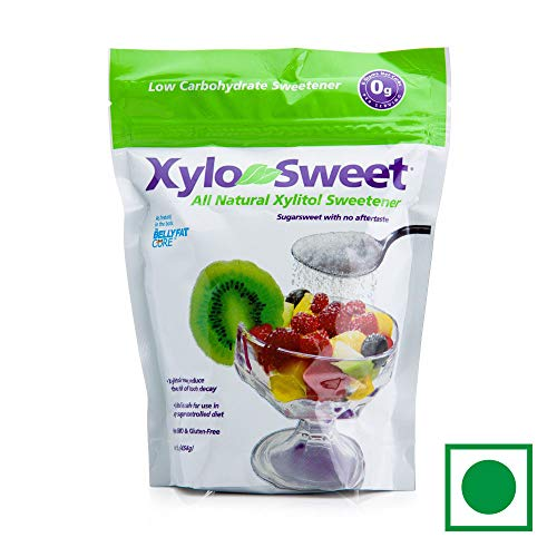 1 Lb Sweet - Xlear XyloSweet Non-GMO Xylitol Sweetener -  Natural Sweetener Sugar Substitute, Granules, 16 Ounce Resealable Bag