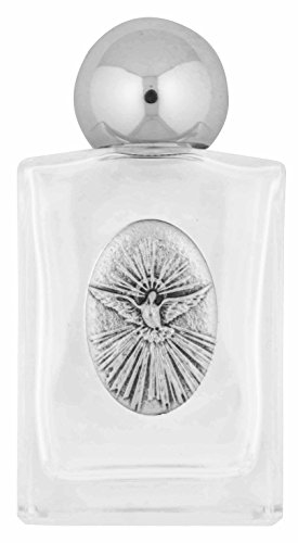 Glass Holy Water Bottle by Venerare (Holy Spirit)