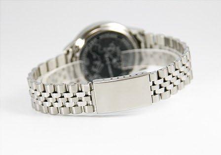 964.4710.78 Elegante Herren Funkarmbanduhr mit Junghans-Uhrwerk, Gehäuse & Armband aus Edelstahl