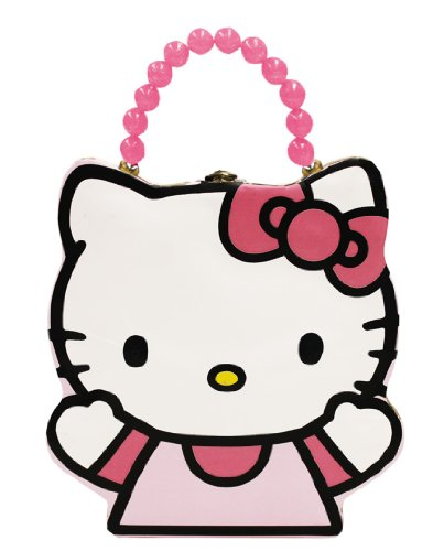 The Tin Box Company 698207-12 Hello Kitty Carry All Tin Purse