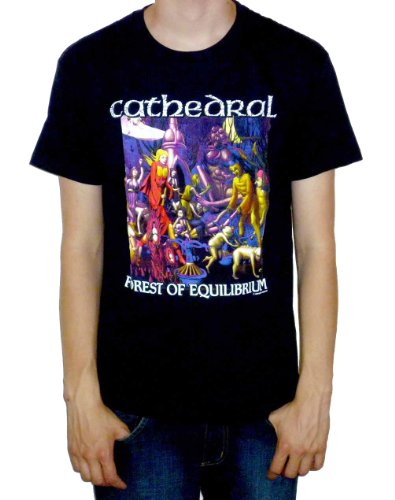 Earache Cathedral - Forest Of Equilibrium T-shirt - Size ()