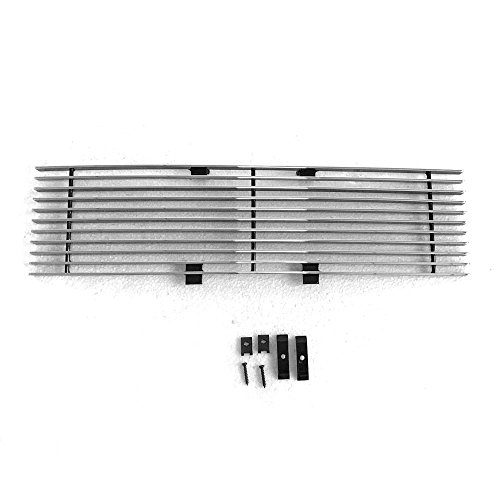 Front Lower Bumper Grille Grill Insert Chrome Polished Billet Grilles For 09-14 Ford F150 Pickup Trucks