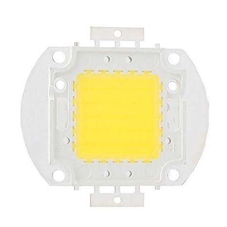 Cuentas eDealMax DC 30-35V 50W LED de alta potencia SMD chip luz blanca neutra para Proyector - - Amazon.com