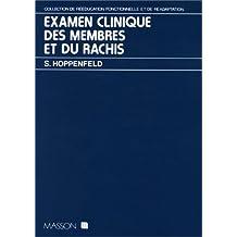 Examen Clinique Membres et Rachis