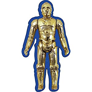 Aquarius Star Wars C3PO Action Figure Funky Chunky Magnet, Gold, 3″
