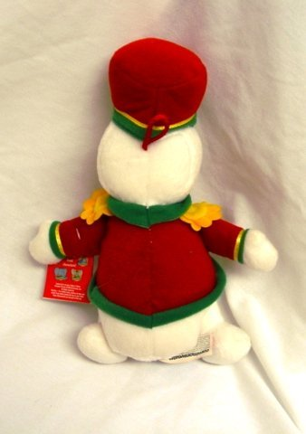 Snowden the Snowman in Marching Band Uniform 9 Plush Commonwealth