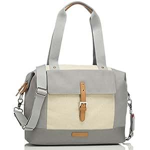 Storksak Jude Convertible Backpack Diaper Bag, Grey/Natural