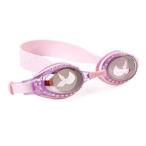 Swimming Goggles For Girls - Mermaid Kids Swim Goggles By Bling2o (Jewel Pink)