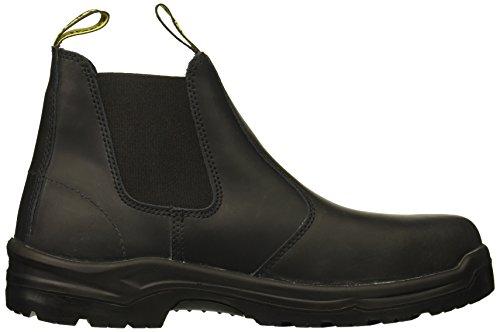Men's Stanley Construction Toe Shoe Dredge and Industrial Black Soft vnARq