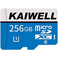 Kaiwell 256GB Micro SD Memory Card High Speed Class 10 Micro SD SDXC Card with Adapter for Android Smartphones, Tablets
